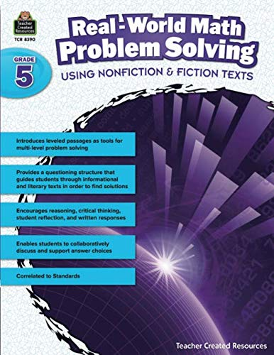 Real-World Math Problem Solving Grade 5: Grade 5