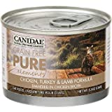 Canidae Grain Free Pure Elements Chicken, Turkey & Lamb Canned Cat Food, 5.5 oz.