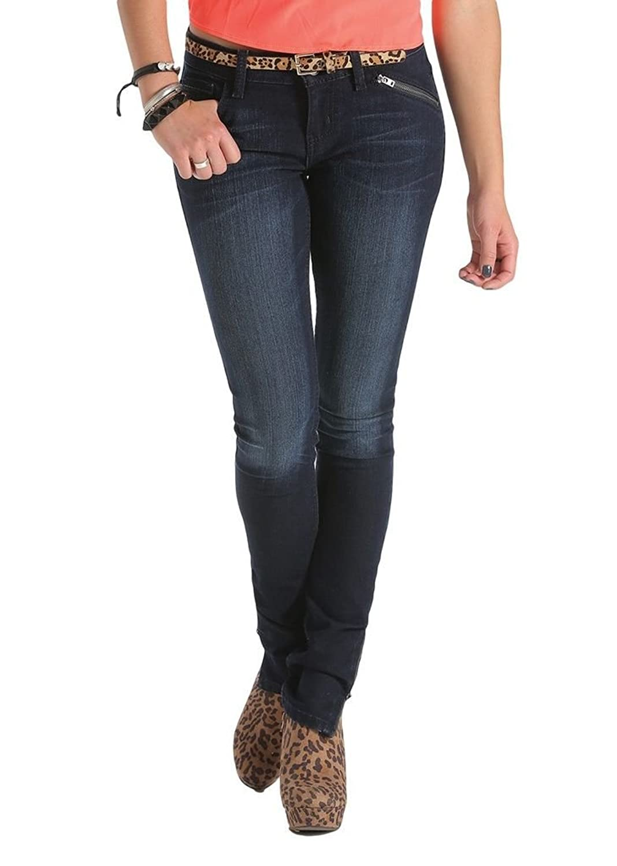 Cruel Girl Western Jeans Womens Abby Skinny 7 Reg Indigo CB43454001