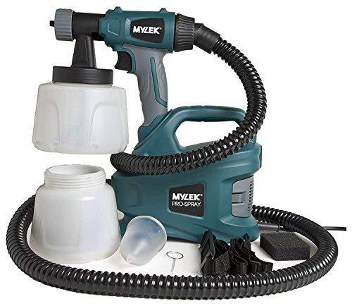 MYLEK MYPS700 PRO-Spray 700W Electric Sprayer Gun Kit-2 Paint Cups, Shoulder...