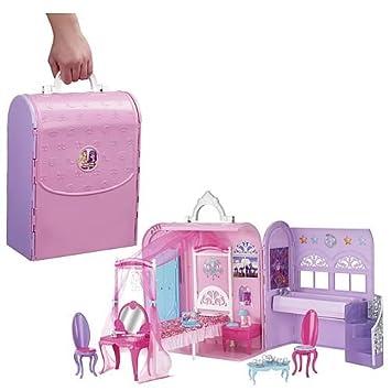 Amazon.es: Barbie - Maletín-Habitación De Princesas (Mattel X3706): Juguetes y juegos