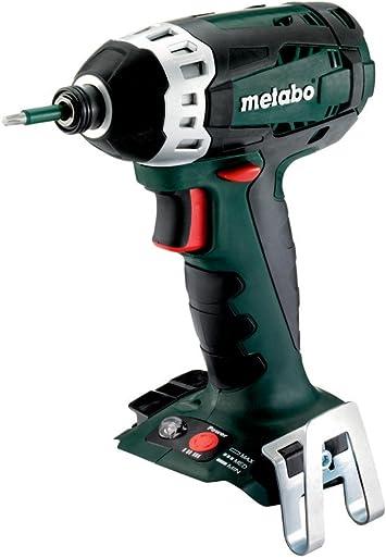 1//2 18 V//sin baterias - atornillador de impacto 18 V carcasa Metabo SSW 18 LTX 600 Nm