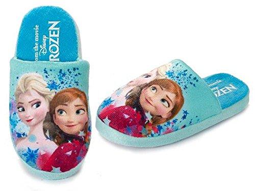 Zapatillas Casa Frozen Talla 23-34 Surtido A Elegir 1