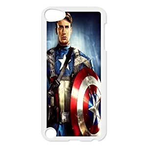 Captain America's Ipod Touch 5 Case, [White]