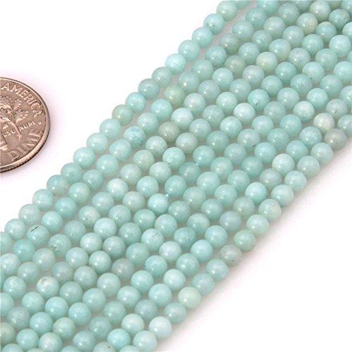 Natural Amazonite Round Beads - 5