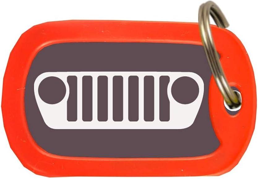 Amazon.com: Jeep JL Grill – Llavero grabado personalizado ...