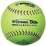 Worth Sports Pro Tac Hot Dot W00590712 Softball 11'' 52/300, Yellow