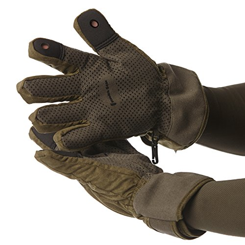 Stealth Gear Extreme Waterproof Gloves - Green/Black, 2X-Large