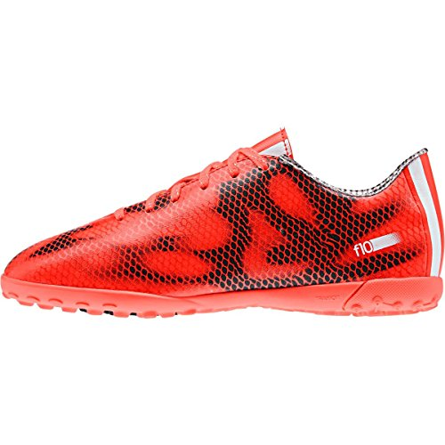 adidas Childrens F10 Astroturf Trainers Kids Red 4