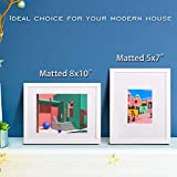 Egofine 11x14 Picture Frames 4 PCS White - Made of