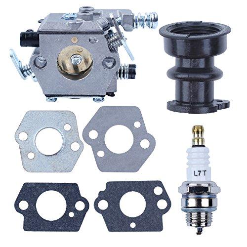 Haishine New Carburetor Carb Intake Boot Gasket Spark Fits STIHL 021 023 025 MS210 MS230 MS250 Carburador Chainsaw Zama C1Q-S11E, C1Q-S11