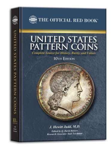United States Pattern Coins (Official Red Books)