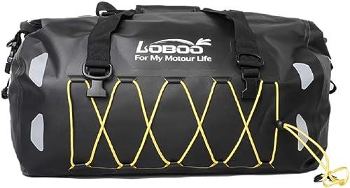 Bagood Waterproof Bag 50L Motorcycle Dry Duffel Bag,Lightweight cycling hiking backpack, Multifunction Sports Bag for Gym, Travels 50L, Black