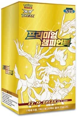 pokemon cards XY BREAK Premium Champion PackBooster Box / Korean Ver by Pokemon Korea