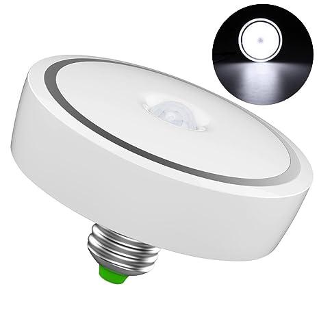 LEDMOMO 12W E27 Sensor de Movimiento Bombilla, LED Inteligente Lámpara de Inducción del Cuerpo Humano