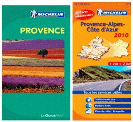 Michelin Pack Provence - Green Guide in English plus Provence Map by Michelin Editorial Staff (2013) Paperback (Michelin Green Guide To Provence)