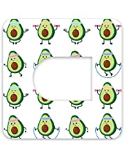 Omnipod Adhesive Patch Precut Avocado Design Adhesive Patches with Split Backing, Easy to Apply x 10 Pack