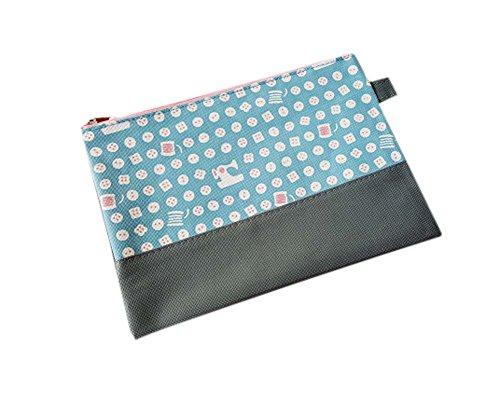 2Pcs Fashion Office Products Storage Bag File Organizer File Pocket