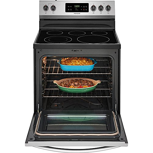 Frigidaire FFEF3054TS 30 Electric with 5 5.3 ft. Oven Capacity, Steel