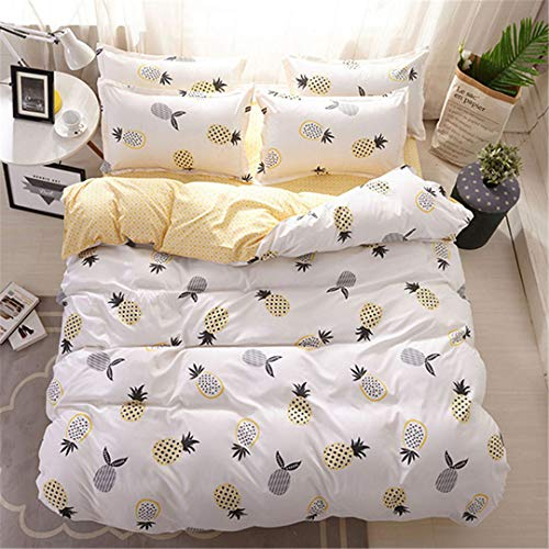 Austin Daybed - CHSLRER Winter Soft Cotton 3/4 Pcs Bedding Set Adult Kids Child Bed Linens Single Twin Queen King Size Duvet Cover Sheet 8 See Below for Size descriptions