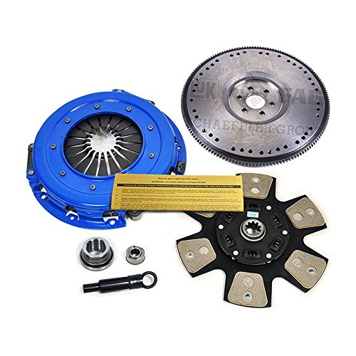EFT STAGE 3 CLUTCH KIT+HD FLYWHEEL 86-95 FOR FORD MUSTANG LX GT 5.0L COBRA SVT
