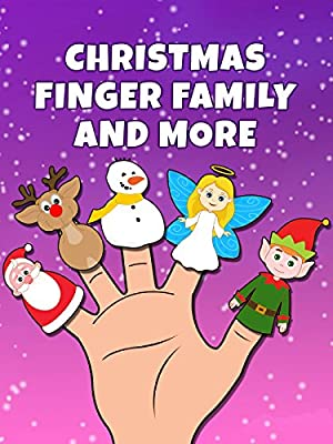 Christmas Finger Family And More