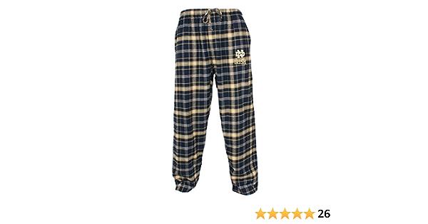 Concept Sport Notre Dame Fighting Irish Adult NCAA Grandstand Pajama Pants Navy,