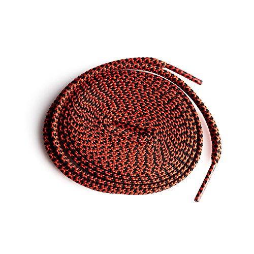 xxiii Flache Pastell farbigen Schnürsenkel für Läufer Turnschuhe NMD Rx1 Air Max Ultra Boost Ostern benutzerdefinierte Tritte Schwarz Rot