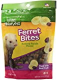 Wild Harvest Ferret Bites Treats, Banana Raisin, 4-Ounce (P-H421)