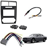Scosche CR1295DDB Double DIN Dash Kit for 2005-2007 Dodge Magnum/Charger Wire Harness Antenna