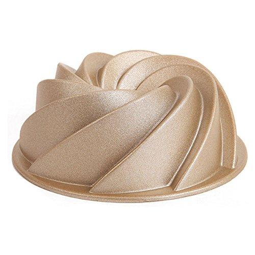 Mini Spiral whirlwind shape Mold,Cast aluminum Cake Mold Non Stick Bundt Pan World Cuisine