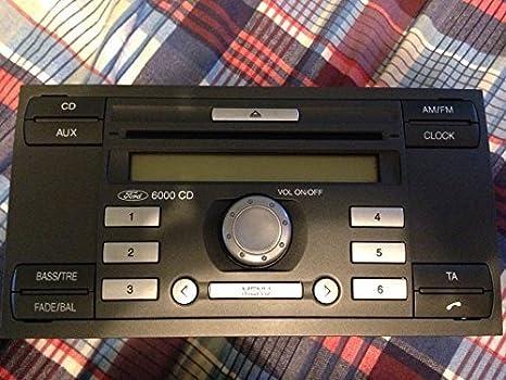 Codice Sblocco Autoradio Ford.Ford Autoradio Ford 6000 Cd Con Codice Per Auto Ford Focus