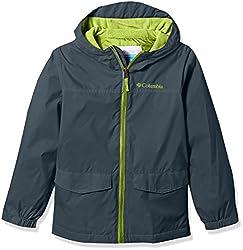 Columbia Little Boys' Rain-zilla Jacket S, Mystery, S