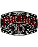 Montana Silversmiths Men's Case Ih Mccormick Farmall Buckle Red One Size