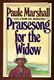 Praisesong for the Widow, Paule Marshall, 0399127542