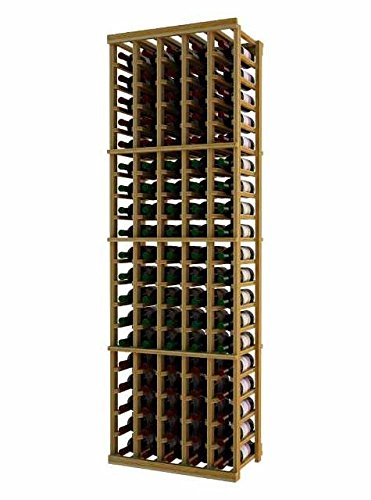 Wine Rack w Five Columns for 100 Bottles (Premium Redwood Unstained) Review