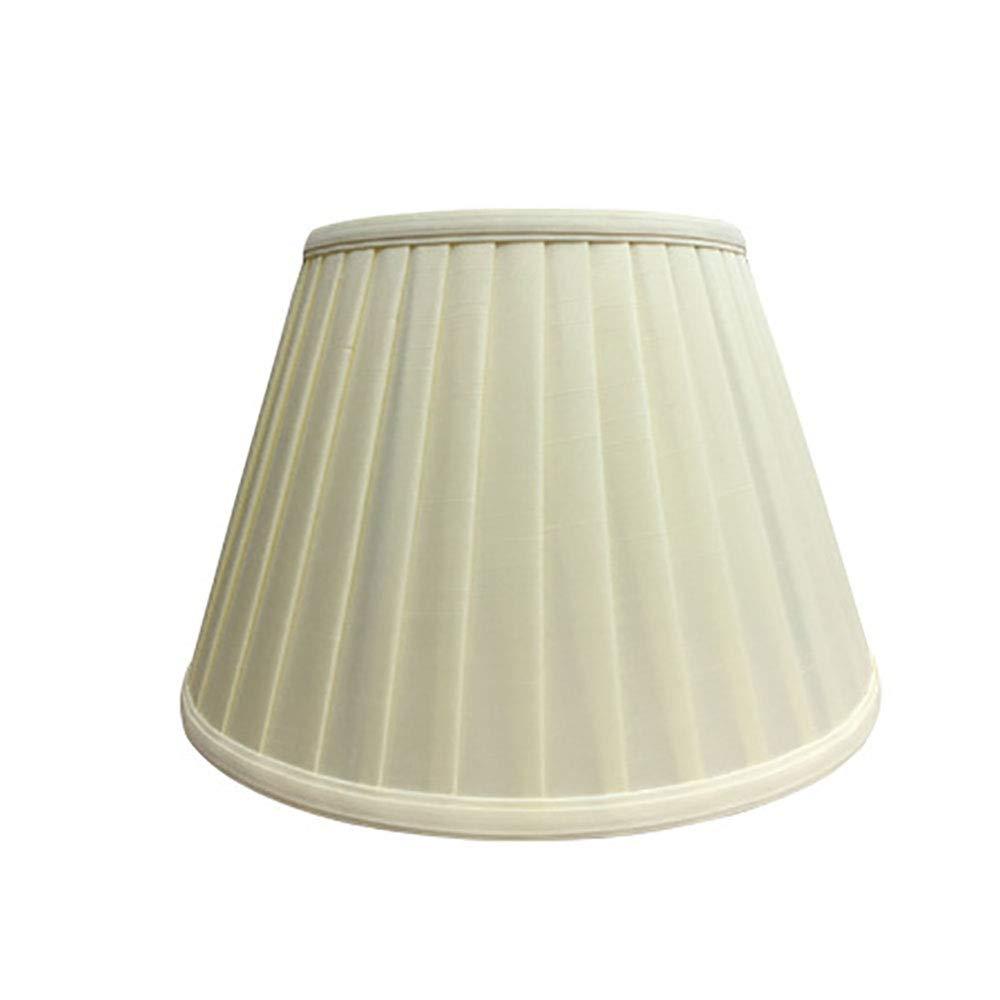 BERGHT Angenehmter Shade Lamp Shade Multicolor Tuch 13,7 Zoll um 15,7 Zoll um 17,7 Zoll, Eggshell, Spider Fitter,Beige,45