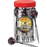 Fat Cat Darts in a Jar: Soft Tip Darts with Storage/Travel Container, 17 Grams (Pack of 21)
