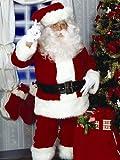 Super Deluxe Santa Suit Costume - Standard