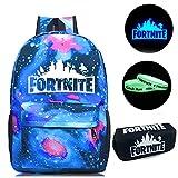 Gash Hao Fortnite Backpack Boys School Bookbag Battle Royale Bag for Kids