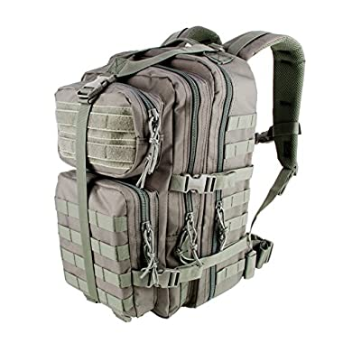 3V Gear Velox II Large Tactical Backpack MOLLE Compatible for Military Gear, Laptops, Travel, Man Bag