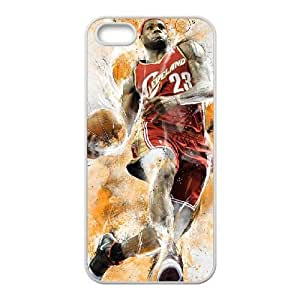 Lebron James iPhone 4 4s Cell Phone Case White yyfabd-322914