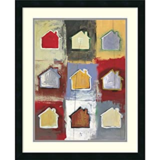 "Framed Art Print, 'Home Sweet Home Sweet Home I' by Niro Vasali: Outer Size 22 x 27"" (B00444DWB2) 