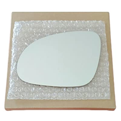Mirror Glass And Adhesive 2006 - 2009 Jetta Passat Rabbitt Gti Eos Driver Left Side Replacement: Automotive