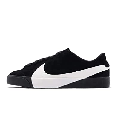 huge selection of bfb56 81399 Nike Women s Blazer City Low Lx Gymnastics Shoes, White Black 001, ...