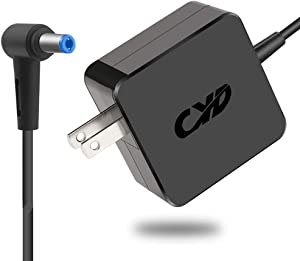 CYD 40W Replacement for Laptop-Charger Acer-Aspire-One 722 725 756 522 533 532h AOA150 AO756 D270 D257 D255 D250 D260 D150 A110 AOD257 V5 V5-121 V5-122p V5-123 V5-131 E15 E 15 E5-511 Power-Cord