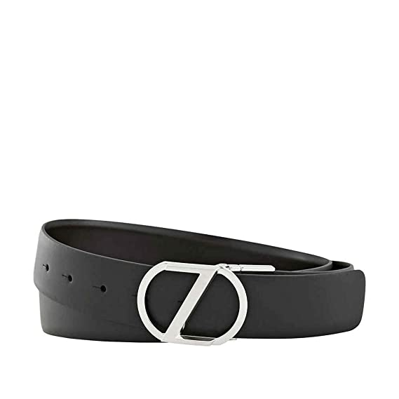 4c614a82fd Zegna XXLReversible Calfskin Leather Belt Black/Brown BZDLW3-9346 ...