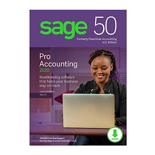 Sage 50 Pro Accounting 2020 U.S. [PC Download]