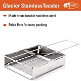 GSI Outdoors Glacier Stainless Steel Toaster That's