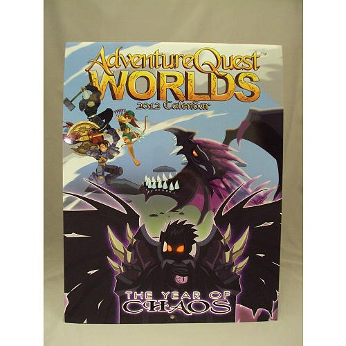 Adventure Quest Worlds 2012 Calendar